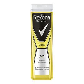 Żel pod prysznic i szampon dla mężczyzn 2w1