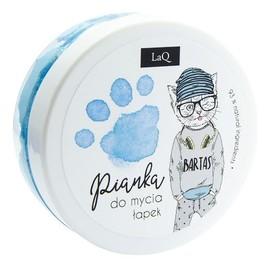 Pianka do mycia łapek niebieska
