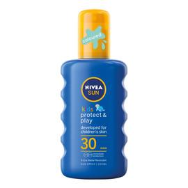Kids Protect & Play nawilżający spray ochronny na słońce dla dzieci SPF 30