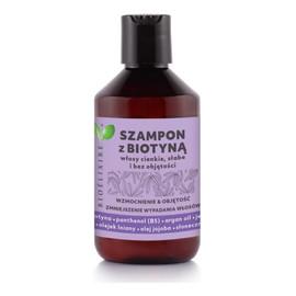 Vegan szampon do włosów cienkich i słabych