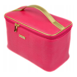 Damska kosmetyczka kuferek noble pink P003