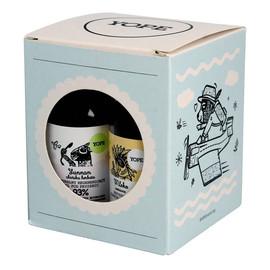 Mini zestaw (szampon 40ml + odżywka do włosów 40ml + żel pod prysznic 40ml + balsam do ciała 40ml)