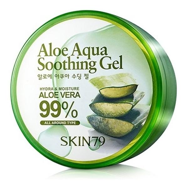 Skin79 Aloe 99% Aqua Żel Łagodzący Aloesowy 300g