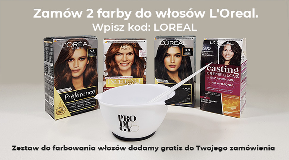 LOREAL farby