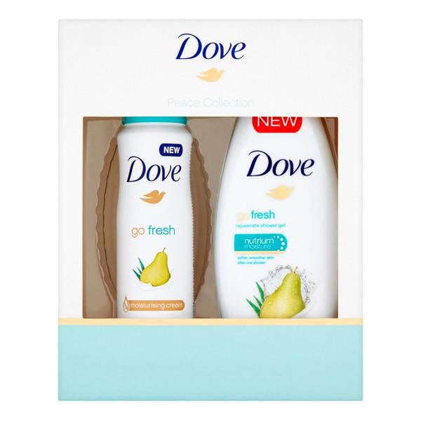 Dove Peace Collection Zestaw prezentowy Żel + Dezodorant Go Fresh
