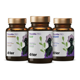 4her thyrome pro morning&day&night równowaga układu immunologicznego suplement diety 90 kapsułek