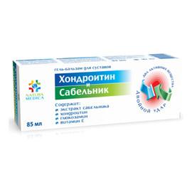 Żel balsam kosmetyczny Chondroityna i Sabelnik