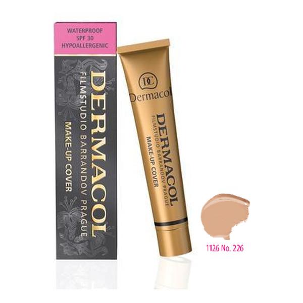 Dermacol Make-up Cover Wodoodporny Podkład Ekstremalnie Kryjący z SPF 30 (226) 30ml