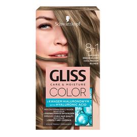 Krem koloryzujący do włosów 8-1 chłodny średni brąz