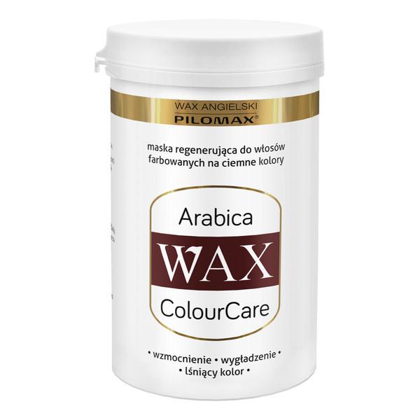 Pilomax Wax Arabica Colour Care Maska Regenerująca Do Włosów Farbowanych Ciemnych 480ml