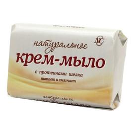 Mydło kremowe naturalne z proteinami jedwabiu