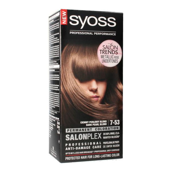 Syoss Professional Performance Farba Do Wlosow 7 53 Ciemny
