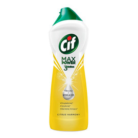 mleczko z wybielaczem do czyszczenia powierzchni Citrus Harmony