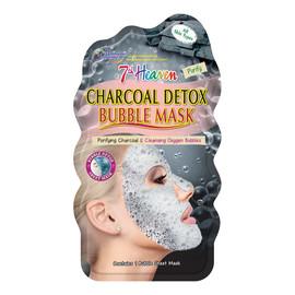 Detoksykująca węglowa maseczka bąbelkowa w płachcie do każdego typu skóry