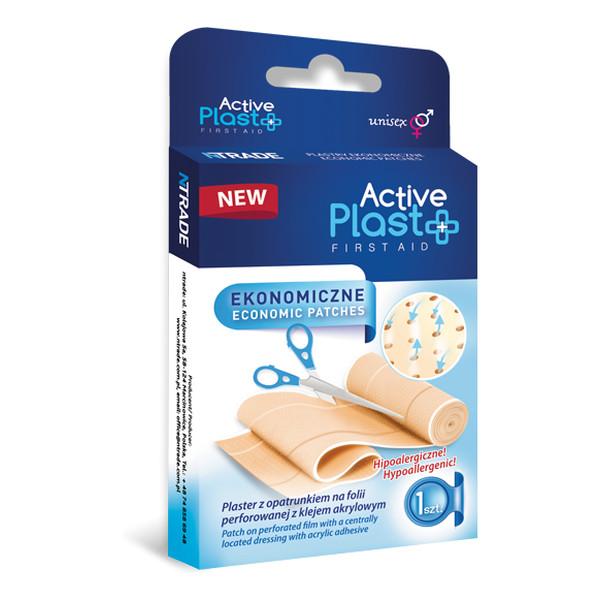 Active Plast First Aid Plastry Opatrunkowe Ekonomiczne