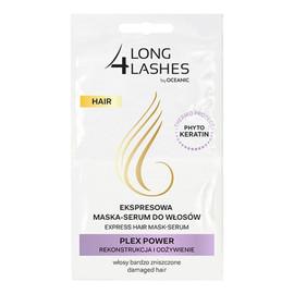 Hair Plex Power ekspresowa maska-serum do włosów zniszczonych 2x6ml