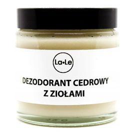 Dezodorant w Kremie Cedrowy szkło