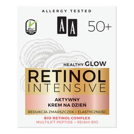 50+ aktywny krem na dzień Redukcja Zmarszczek + Elastyczność Multilift Peptide & Reishi Bio