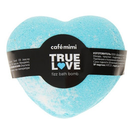 Syczący gejzer kula do kąpieli Prawdziwa miłość (blue)