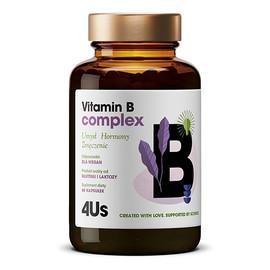 4us vitamin b complex kompleks witamin z grupy b suplement diety 60 kapsułek