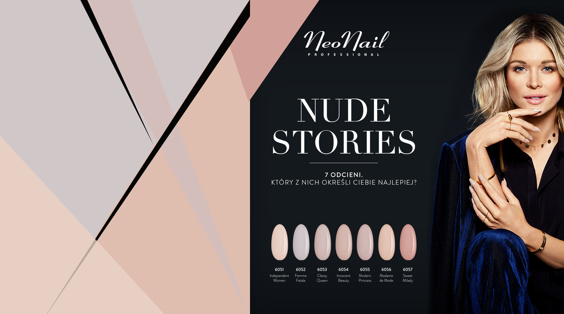 NeoNail Nude Stories Delicious by Joanna Krupa