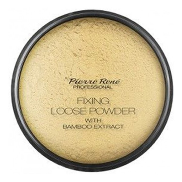 Pierre Rene Professional Fixing Loose Powder With Bamboo Extract puder sypki Bambus & Banan 12g