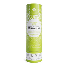 naturalny dezodorant na bazie sody sztyft kartonowy Persian Lime