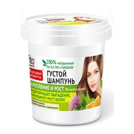 Naturalny Gęsty szampon dla wszystkich rodzajów włosów Wzmocnienie i Aktywny wzrost