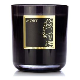 Black line collection świeca z dwoma knotami mort