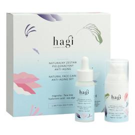 Naturalny zestaw pielęgnacyjny Anti-Aging eliksir do twarzy + krem