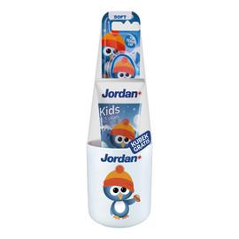 Zestaw pasta do zębów dla dzieci 0-5lat + szczoteczka + kubek