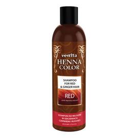 Henna color red szampon ziołowy do włosów w odcieniach czerwieni i rudości