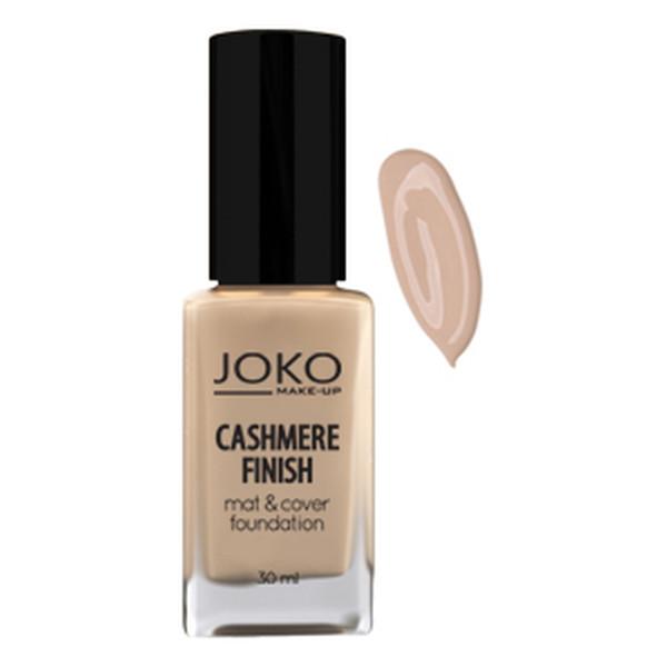 Joko Cashmere Finish Mat & Cover Foundation Kryjący podkład do makijażu 30ml