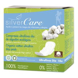 Ultracienkie bawełniane podpaski na dzień ze skrzydełkami 100% bawełny organicznej 10szt