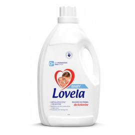 hipoalergiczne mleczko do prania ubranek niemowlęcych i dziecięcych do kolorów