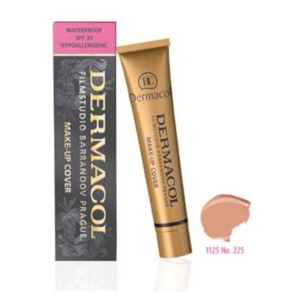 Dermacol Make-up Cover Wodoodporny Podkład Ekstremalnie Kryjący z SPF 30 (225) 30ml