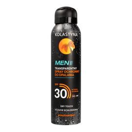 Transparentny Spray ochronny do opalania SPF 30