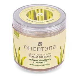 Masło do ciała trawa cytrynowa i żywokost