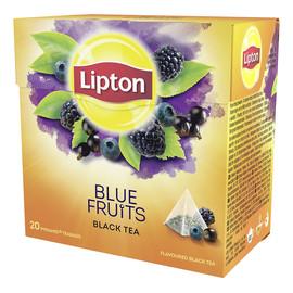 herbata czarna aromatyzowana Owoce Jagodowe 20 piramidek