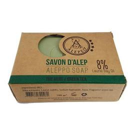 Aleppo Formowane mydło Zielona Herbata