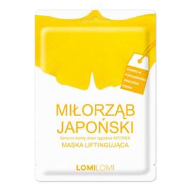 Seria Na Każdy Dzień Tygodnia maska liftingująca na wtorek Miłorząb Japoński