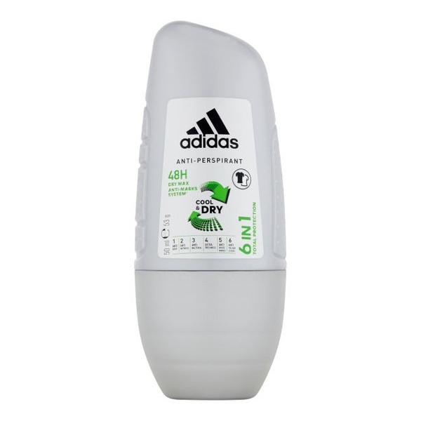 Adidas Cool & Dry Dezodorant roll-on 6w1 50ml
