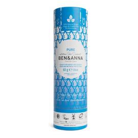 naturalny dezodorant na bazie sody sztyft kartonowy Pure