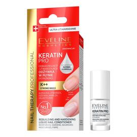Odżywka do paznokci odbudowująco-utwardzająca Keratin Pro