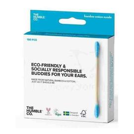 Patyczki Kosmetyczne Eco-Friendly Z Naturalnego Bambusa Blue 100szt.