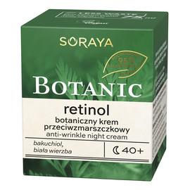 Retinol 40+ botaniczny krem przeciwzmarszczkowy na noc