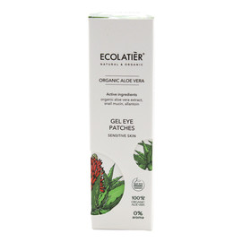 Organic Aloe Vera Żel do skóry wokół oczu ze śluzem ślimaka, cera wrażliwa