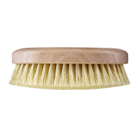 Szczotka do masażu i mycia ciała twarde włókno tampico wersja krótka bez paska