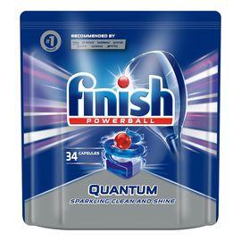 Quantum kapsułki do zmywarki 34 sztuk regularne