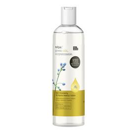 oczyszczanie Płyn micelarny do mycia twarzy i oczu (olej z lnu)